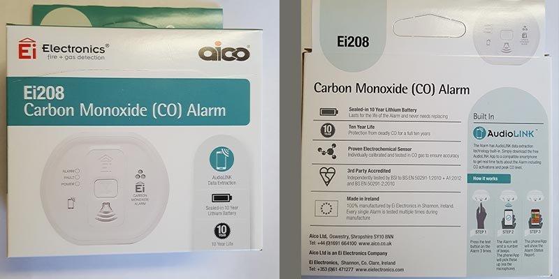 Carbon Monoxide Alarms must for home