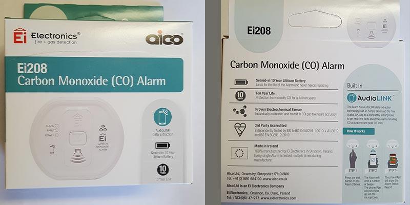 Carbon Monoxide Alarms must for home